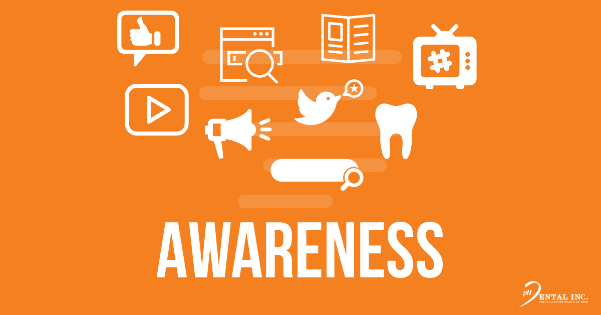 Awareness stage in the dental patient journey