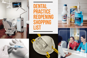 dental practice reopening shopping list featured image