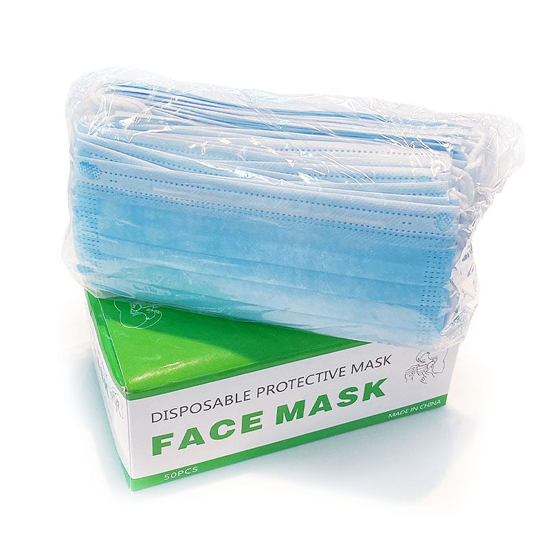 3 Ply Level 1 face mask in box