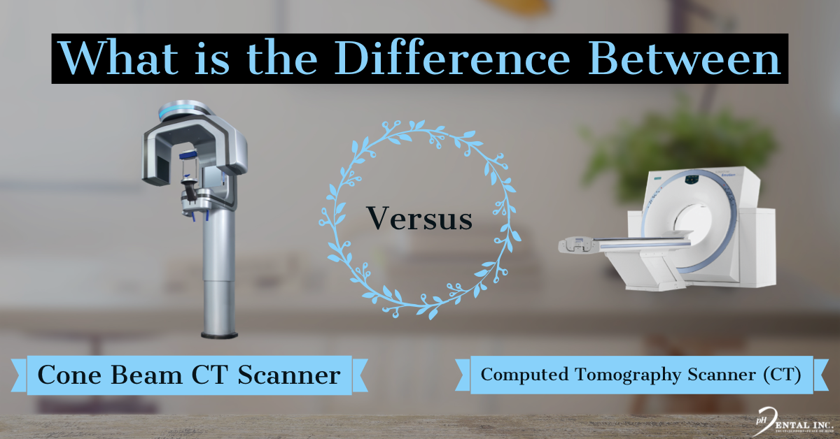 What is the difference between a CT and CBCT Scanner CT