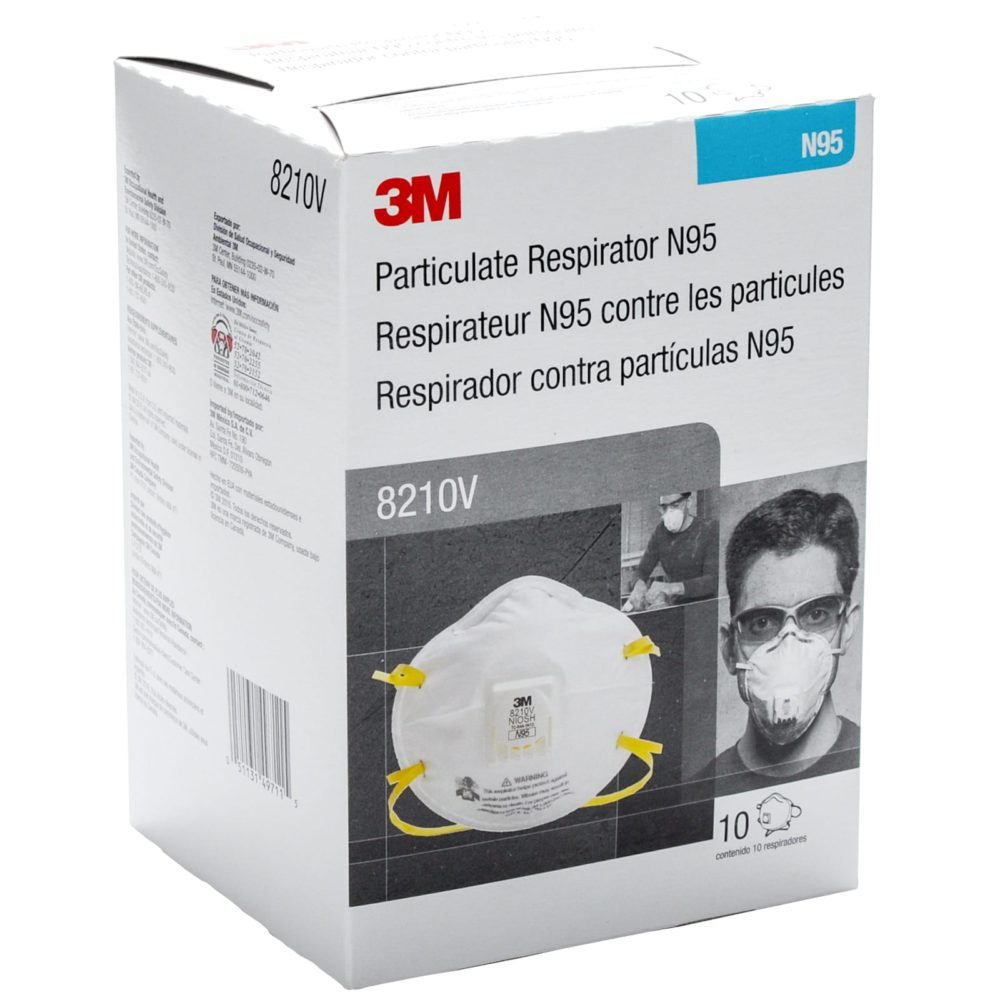 Box of 3M 8210 Masks Particulate Respirators