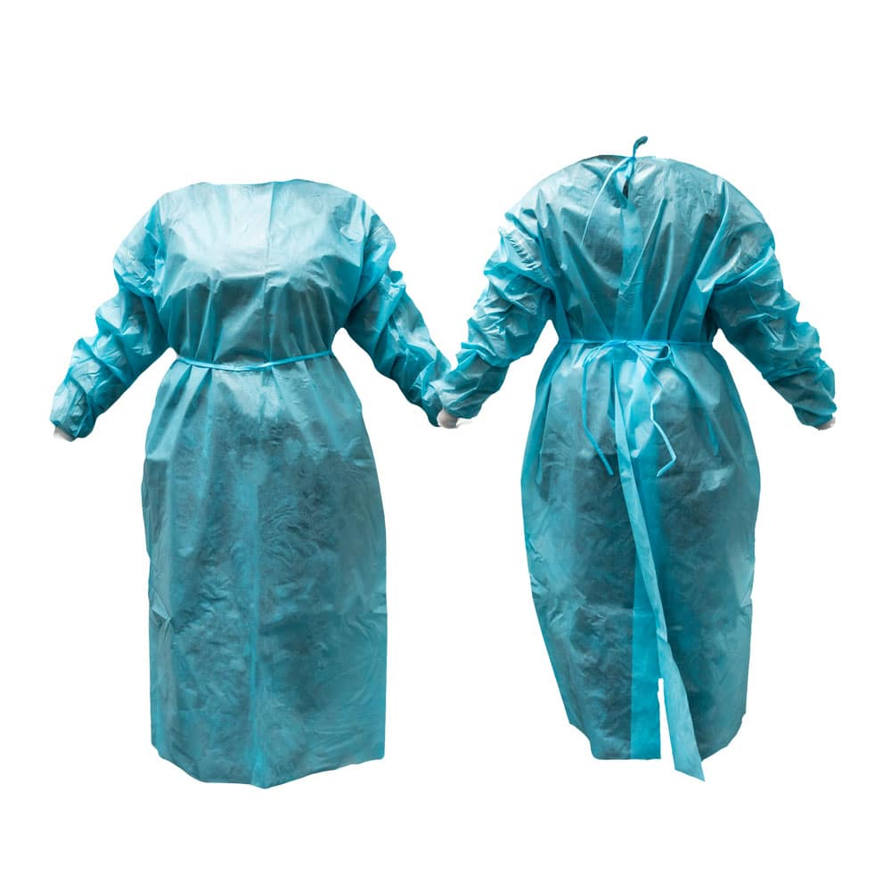 picture of the Level 3 surgical gown