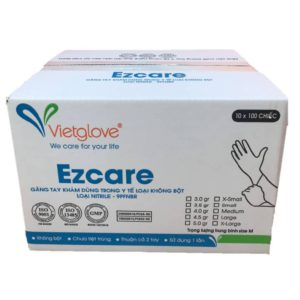ezcare nitrile gloves case
