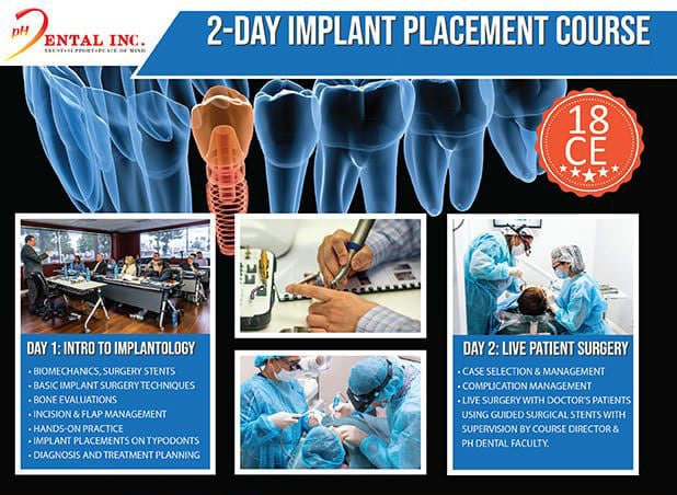 implant training course banner